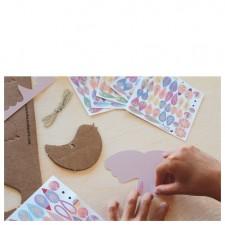 oiseaux atelier créatif