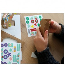 atelier créatif voitures en carton