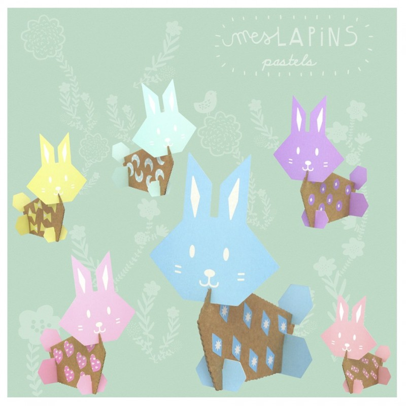 atelier créatif lapins carton