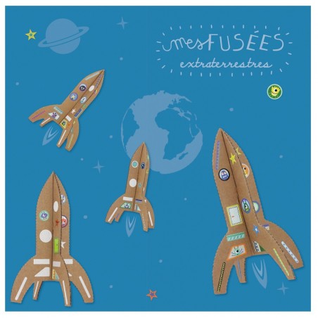 Kit créatif Fusées extraterrestres