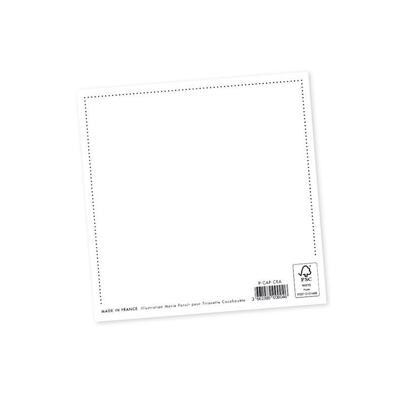 carte postale pirouette