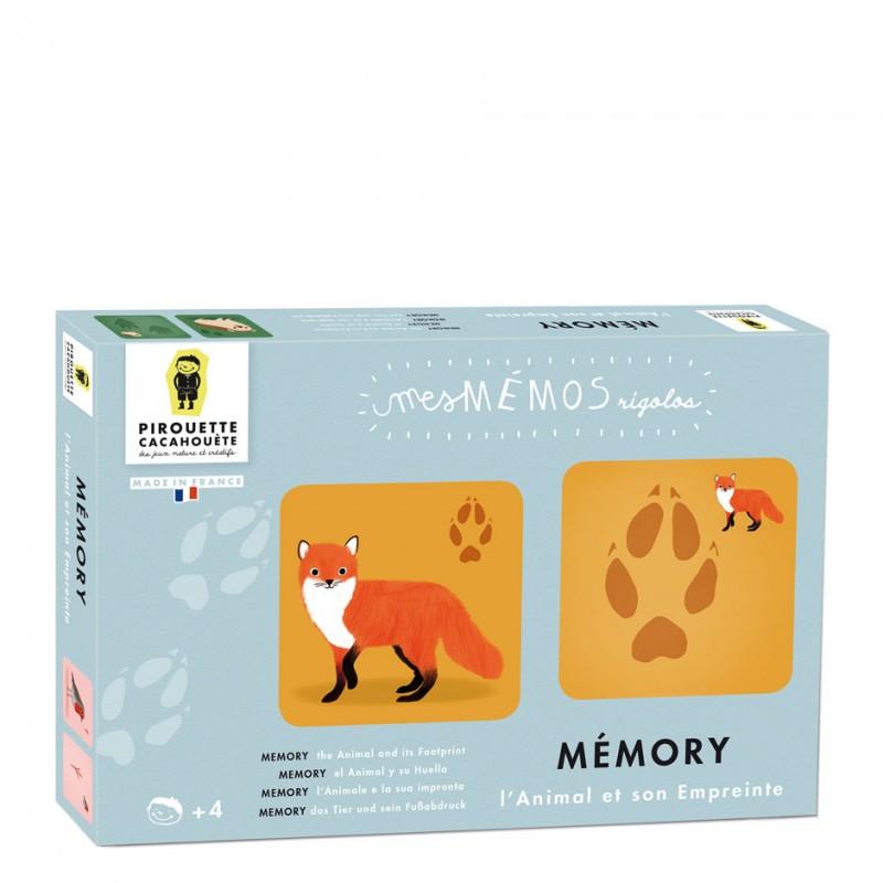 memory game footprints