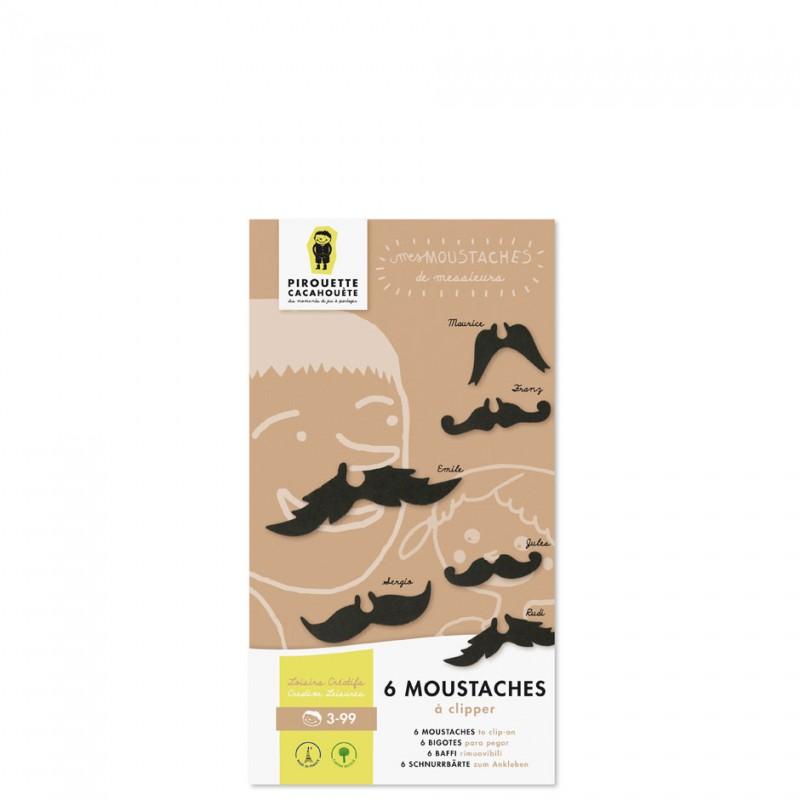 moustaches en carton