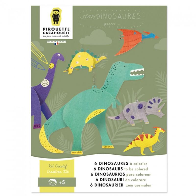dinosaurs creative kit diy