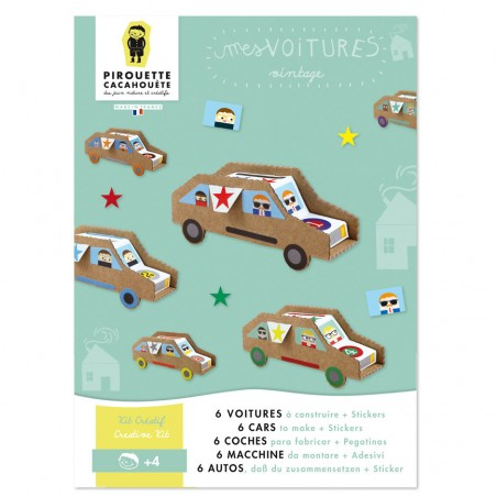 Do-it-yourself birthday cars