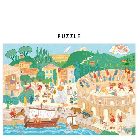 Roman gladiator puzzle