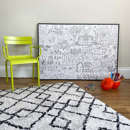 garden giant poster to colore