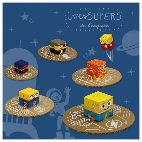 Kit créatif Super-Héros