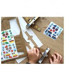 atelier créatif avions stickers