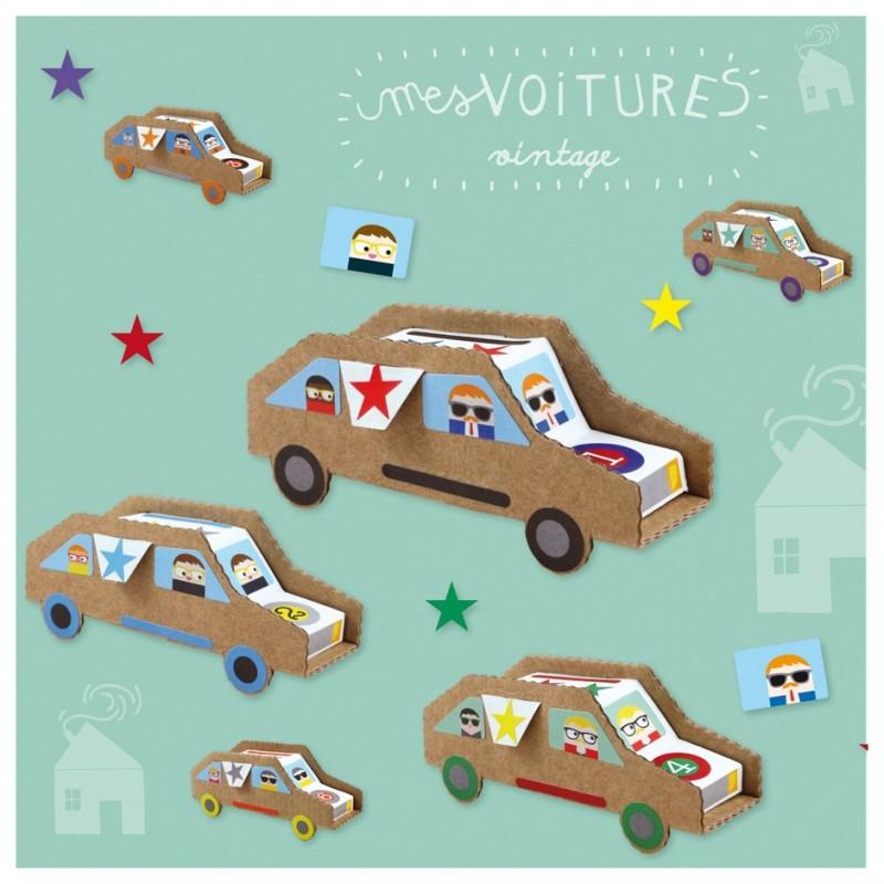 bricolage anniversaire voitures