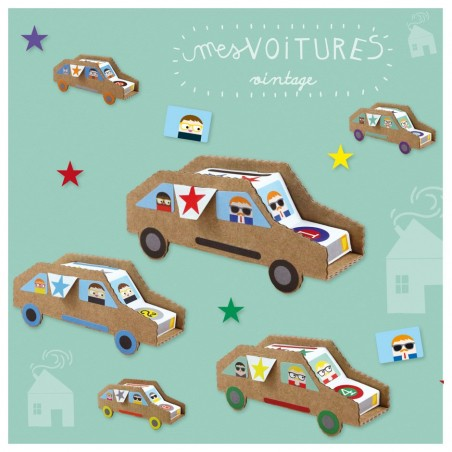 Vintage Cars Creative Kit