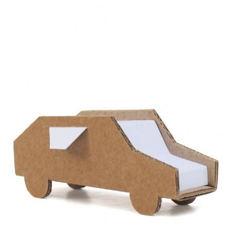 Kraft cardboard cars