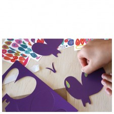 Creative workshop butterflies stickers