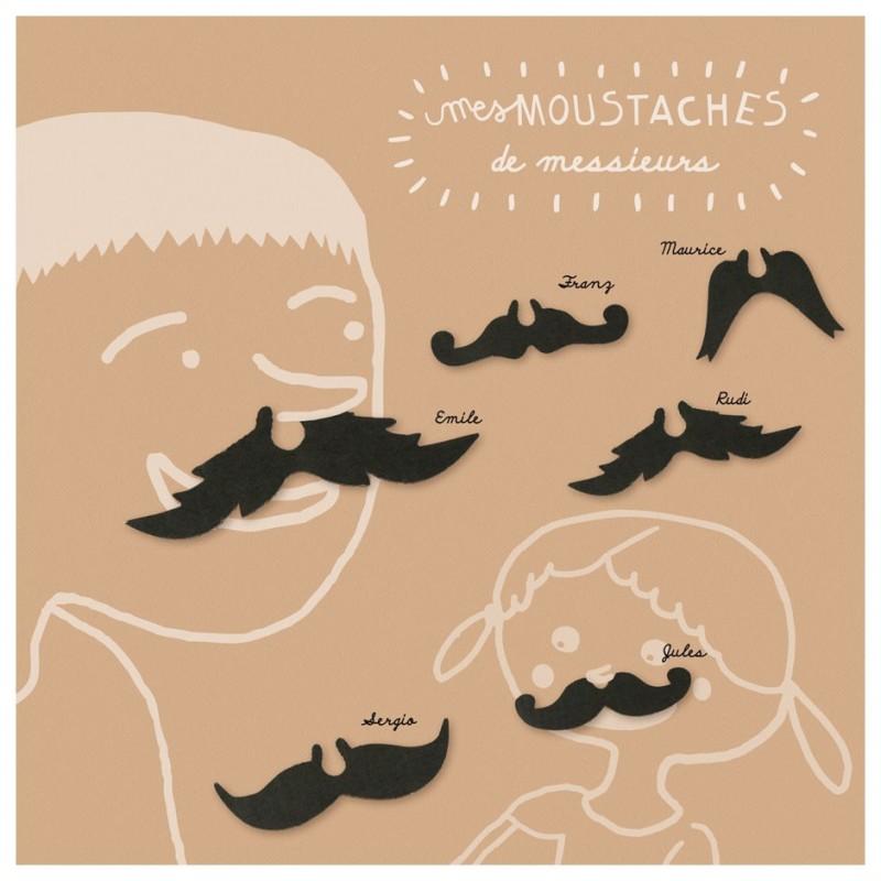 kit créatif moustaches