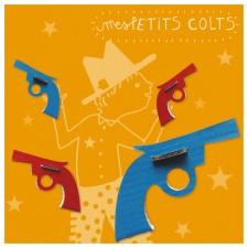 Kit creatif 4 quatre pistolets en carton