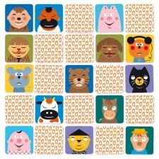 jeu de mémoire animaux