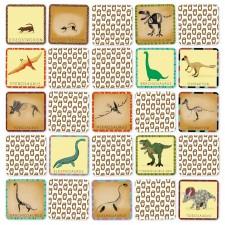 jeu de mémoire dinosaures