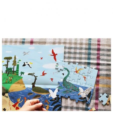 New concept of puzzles children