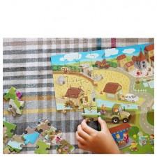 jeu de puzzle chevalier princesses