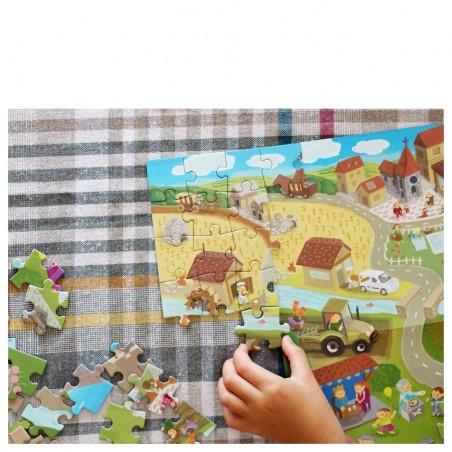 Princess puzzle castel