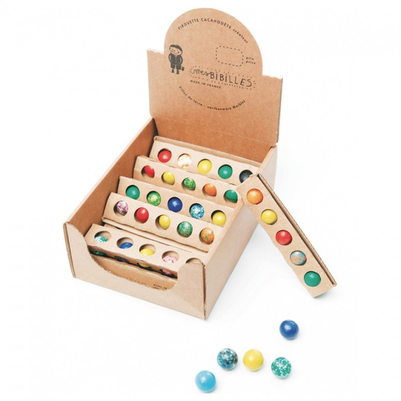 Earthenware marbles little gift birthday