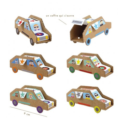 Do-it-yourself birthday cars