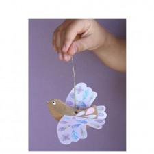 oiseau carton papier