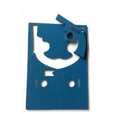 Creative kit 4 four cardboard pistols