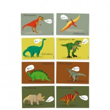 Cartes anniversaire dinosaure