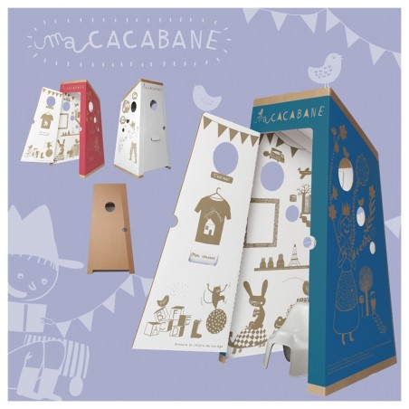The cardboard Hut : my Cacabane