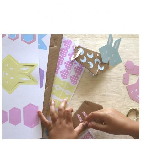 atelier lapins pastels