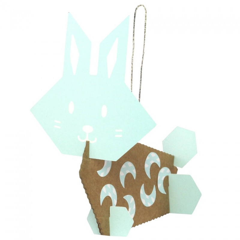 hanging decorative rabbits