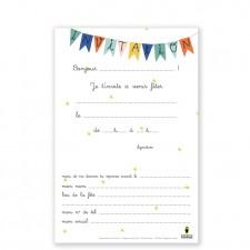 birthday cards hot-air balloon