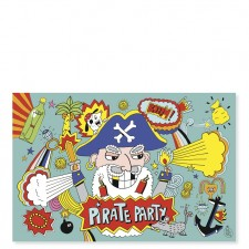 carte anniversaire pirate