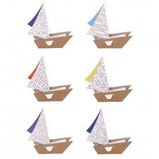 bateaux à colorier