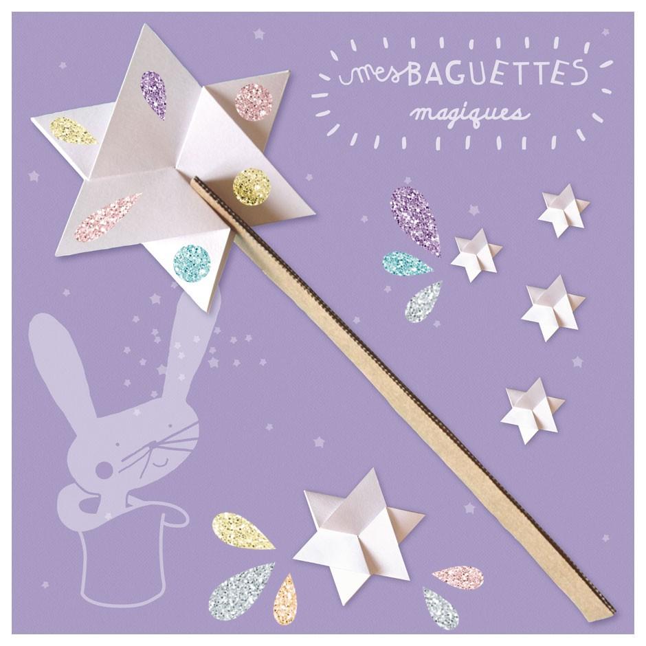 Atelier Créatif 6 Baguettes Magiques En Carton Fabriquées En France