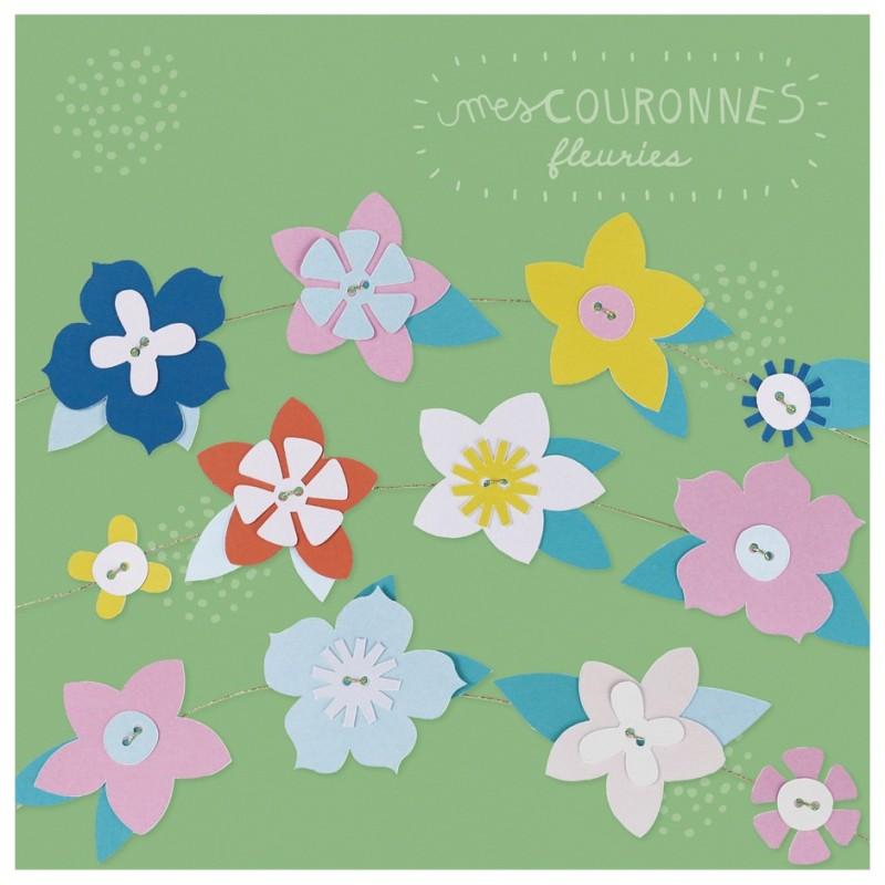 Kit créatif mes Couronnes de Fleurs à créer