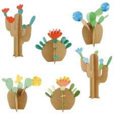 atelier créatif cactus fleurs