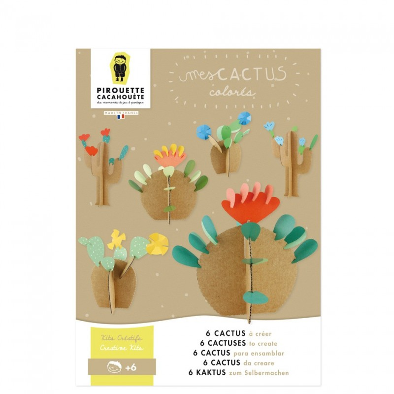 creative kit diy cactus