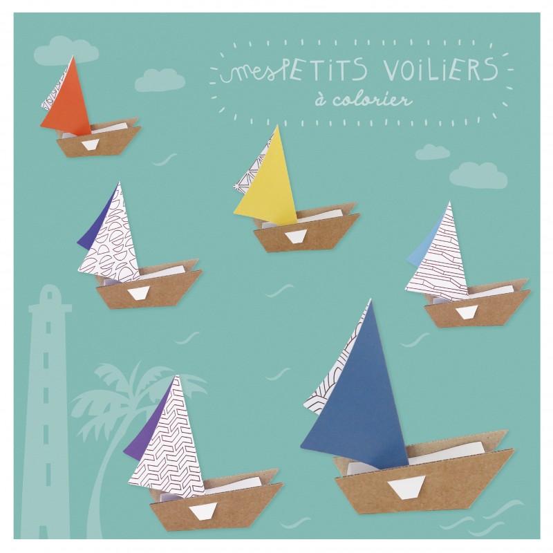 Creative workshop boats cardboard