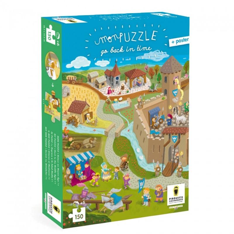 puzzle moyen-âge chateau fort