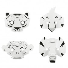 paper jungle masks