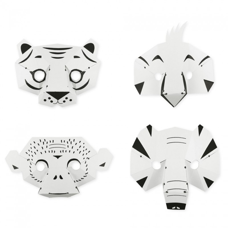 paper jungle masks