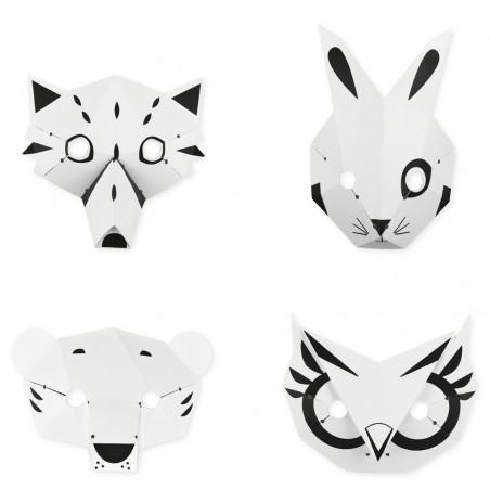 paper forest masks