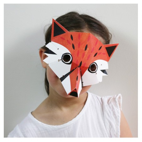 child costume fox mask