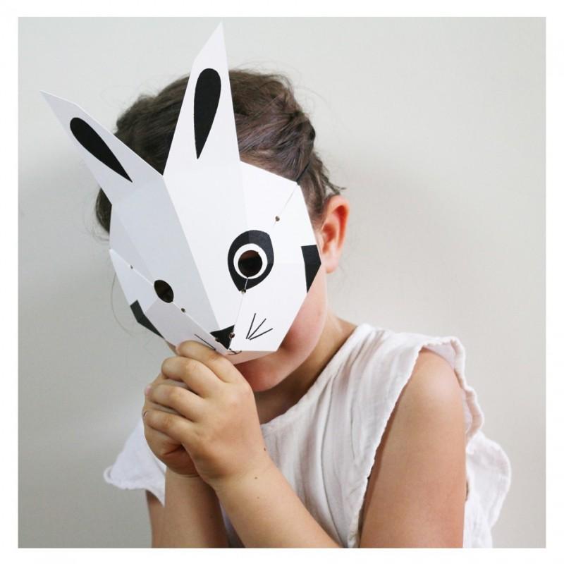 child costume rabbit mask