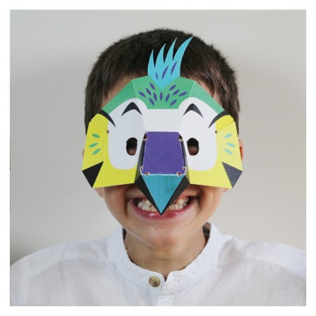 costume parrot mask