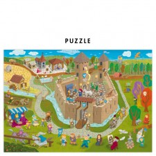 puzzle chateau fort