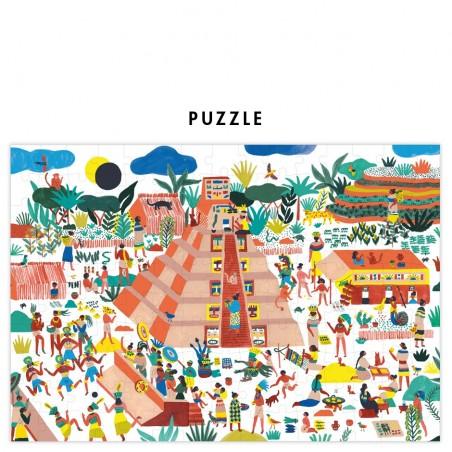 puzzle pyramide maya