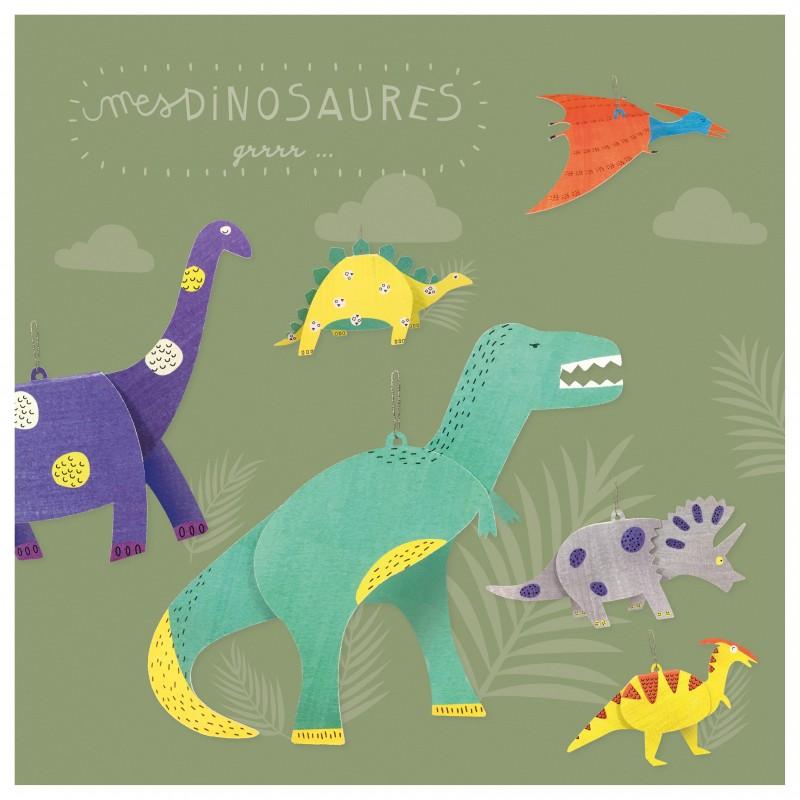 atelier créatif dinosaure